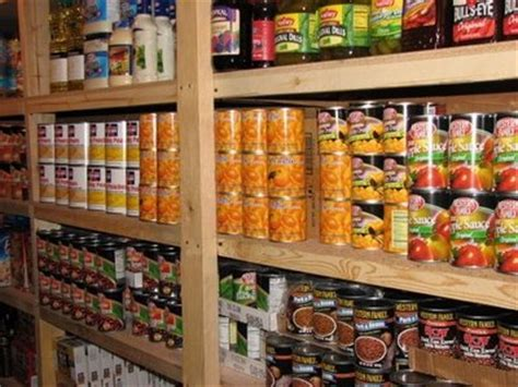 diy canned food storage shelves wooden pdf patio furniture