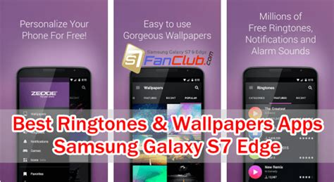 Ringtone And Wallpaper Apps