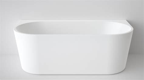 portable bathtub australia caroma aura 1600mm back to wall freestanding bath