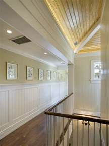 Stained Shiplap Ceiling Wainscoating And Board Wall Variations Shiplap Ceiling