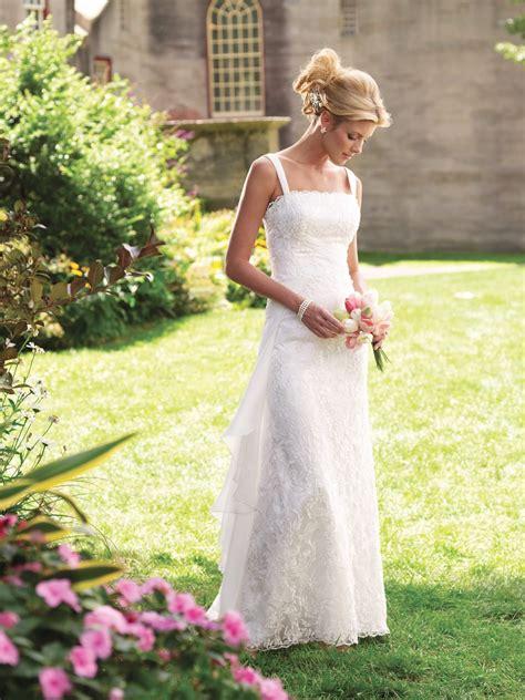 dresses for backyard casual wedding