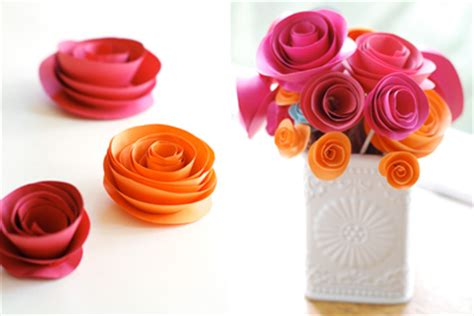 How To Make Decorations For Out Of Paper - how to make decorations out of paper how about orange