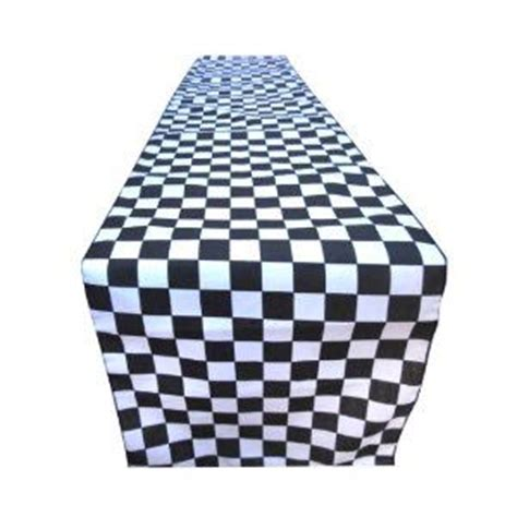 Checkered Table Runner by Checkered Table Runner In Land