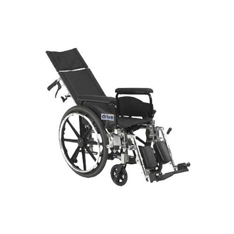lightweight reclining wheelchair drive viper plus pediatric high strength lightweight full