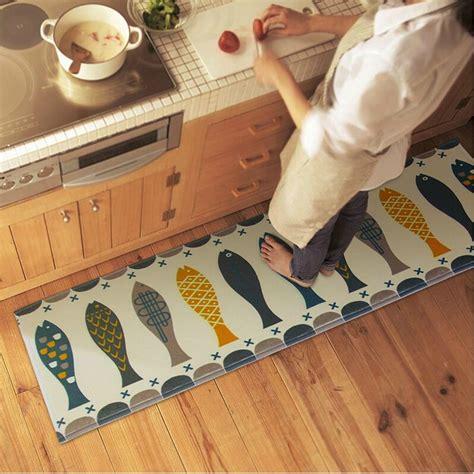Diy Kitchen Rug Kitchen Bathroom Home Rug Absorbent Non Slip Mats Carpet Strips Diy Food Kitchen Sale