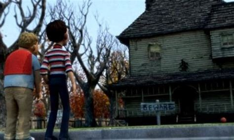 28 monster house pics photos monster house monster house 2006 halloween movies on tv