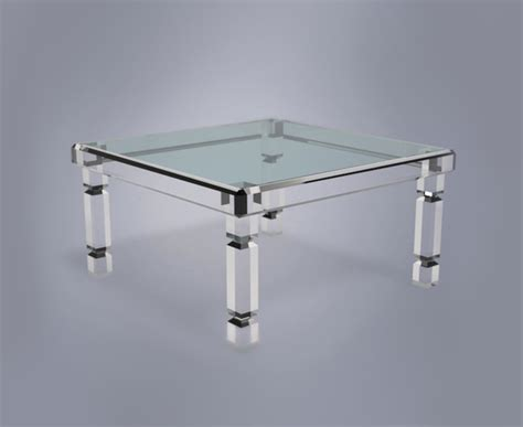 Acrylic Dining Tables Adrienne Dining Table Plexi Craft Signature Collection