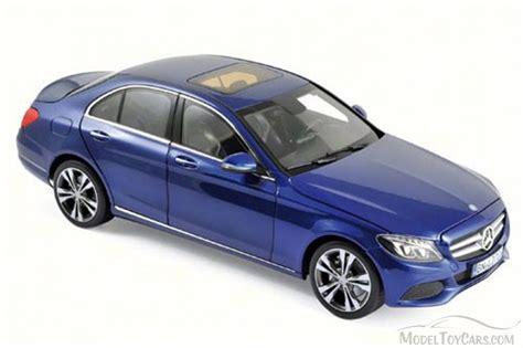 mercedes car model 2014 mercedes c class blue norev 183470 1 18