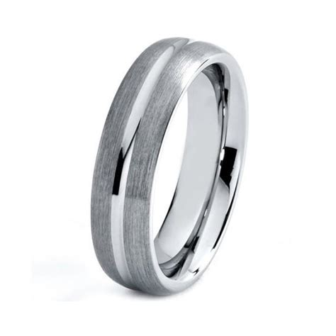 the mens titanium wedding rings for gentlement