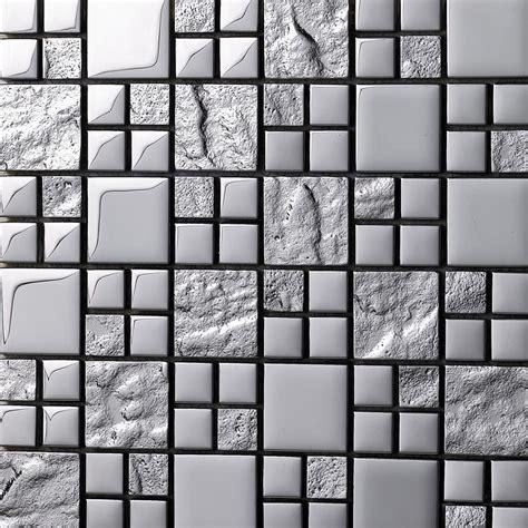 glass feature wall tiles glass tile backsplash silver glass mosaic tiles