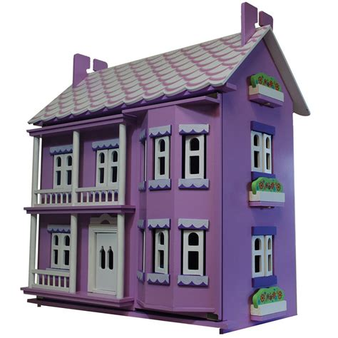 dolls house furniture ebay new mauve manor wooden dolls house doll house furniture