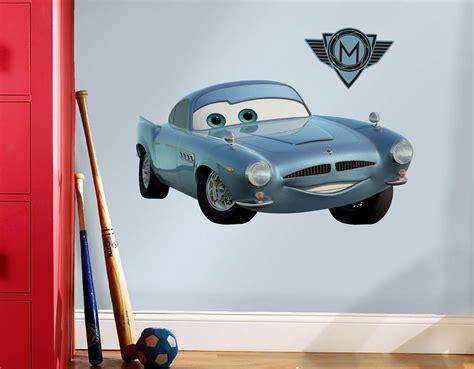 Wandtattoos Kinderzimmer Disney Cars by Roommates Wandsticker Finn Mcmissile Disney Pixar Cars