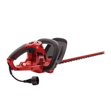 toro 22 in corded hedge trimmer shop your way