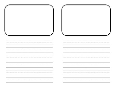 Mini Book Template Free Center Teacher Idea Factory Template For Writing A Children S Book