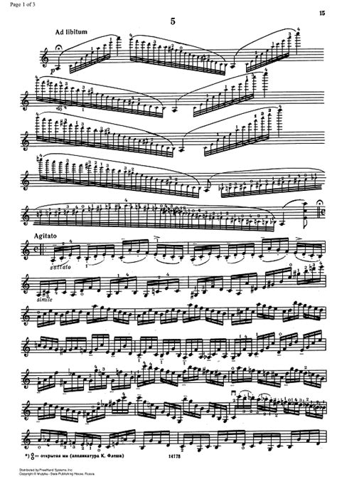 caprice no 5 violin sheet for piano and more