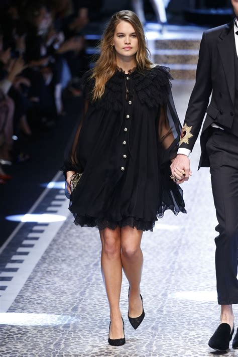 Milan Fashion Week by Stormi Dolce Gabbana Show Runway On Milan Fashion