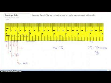 printable ruler tenths of an inch how to read a ruler 10 tenths better life