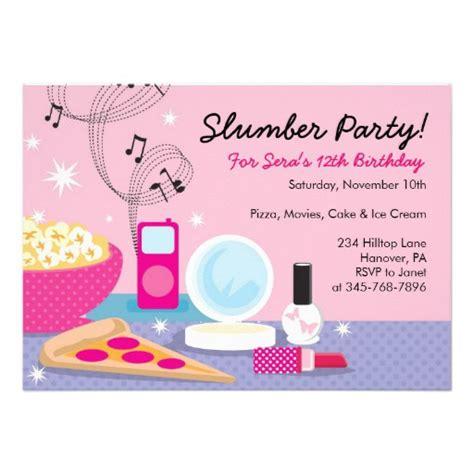 free printable slumber invitation templates free slumber invitation template 2 birthday