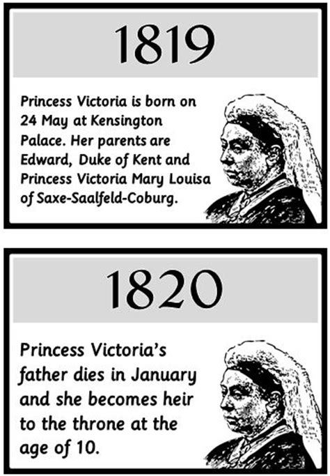 biography timeline ks2 queen victoria timeline treetop displays printable