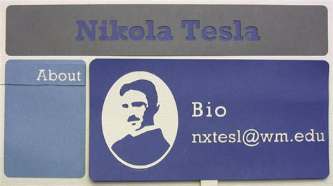 tesla email address digital identity what to put on a faculty website