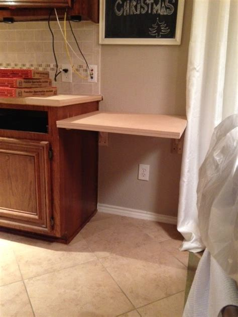 built in kitchen desk the most of your space our new kitchen built in