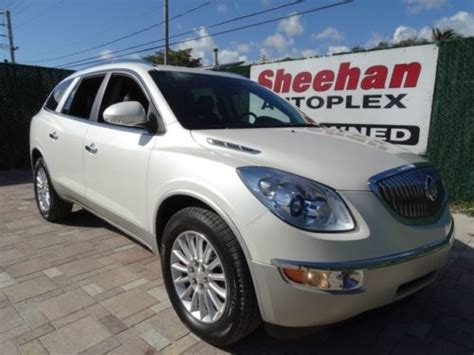 2011 buick enclave driven find used 2011 buick enclave one owner cxl fla driven leather backup cam power auto air in