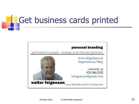 business cards templates for job seekers personal branding for job seekers