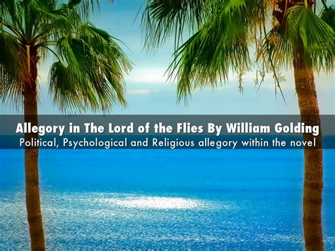 religious themes in lord of the flies copy of allegory in the lord of the flies by william
