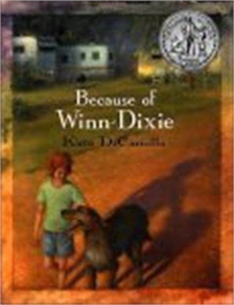 winn dixie book report because of winn dixie literature unit activities