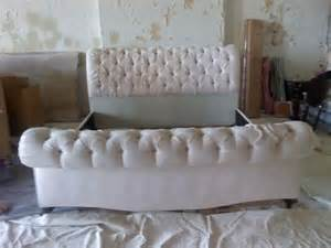 Tufted Sleigh Bed King Tufted King Sleigh Bed For The Home