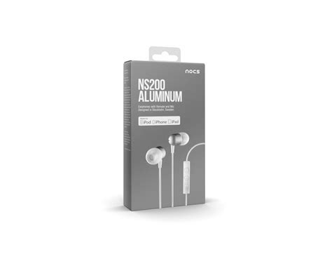 Tai Nghe Nocs Ns200 Aluminum Cho Iphone