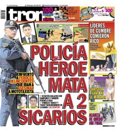 el trome diario peruano trome noticias