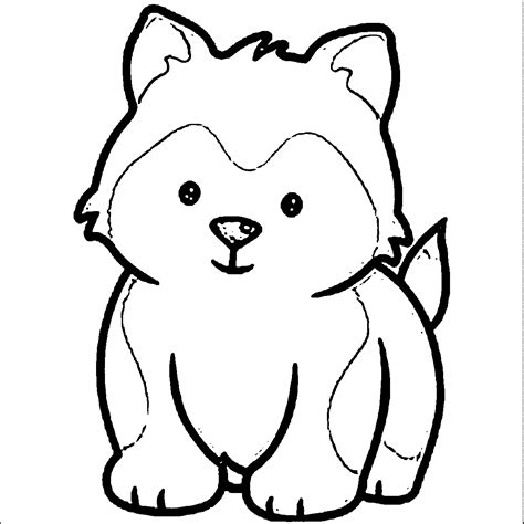 dog face coloring page   clip art