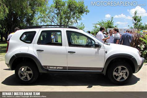 renault dakar se present 243 el equipo renault duster dakar team motores