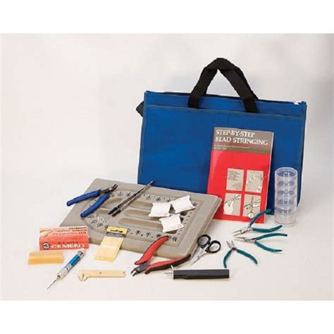 professional jewelry supplies professional pearl and bead stringing kit beaders and