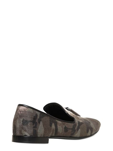 pony hair loafers giuseppe zanotti pony hair and metal fringes loafers in