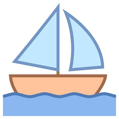 boat icon text sail boat icon free download at icons8