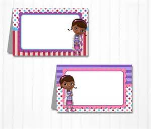 doc mcstuffins buffet free printable doc mcstuffins buffet cards search