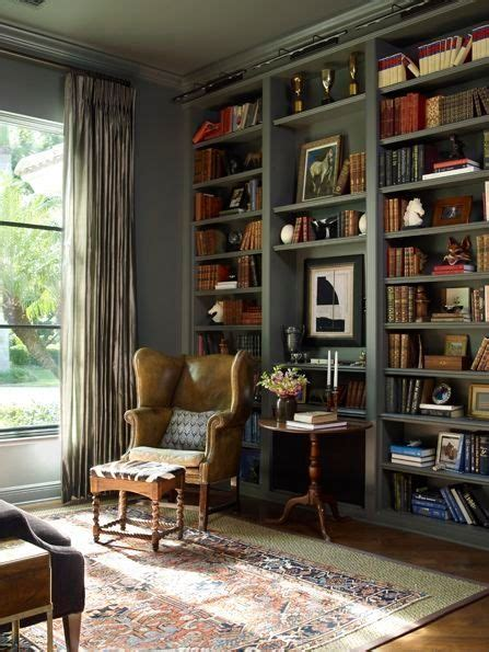 bibliothek einrichten library with painted bookshelves by yobi dining room