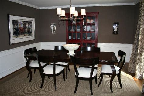 brown dining rooms dining room benjamin moore whitall brown