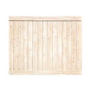 home depot privacy fence veranda pro series 6 ft h x 8 ft w white cedar vinyl