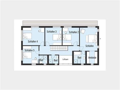 Grundriss Haus 5 Schlafzimmer by Landhaus Bond Grundriss Dg 5 Schlafzimmer Und 3 B 228 Der Auf