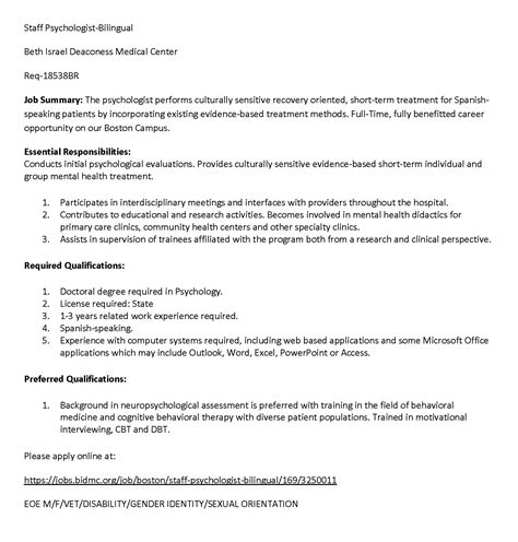 psychology practicum cover letter clinical psychology practicum cover letter