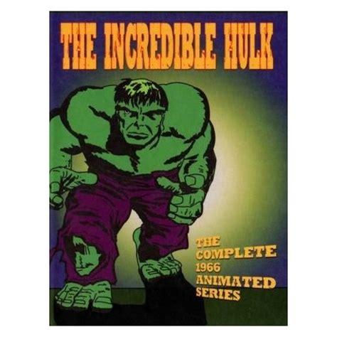 the incredible hulk 1966 cartoons dvd media collectibles