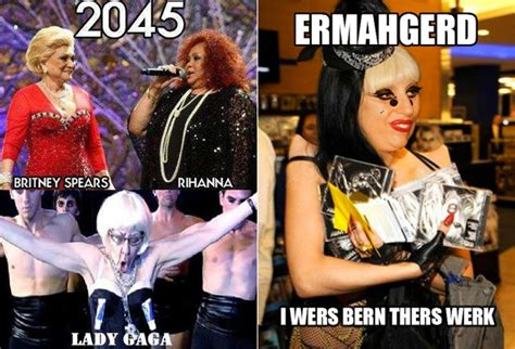 Gaga Meme - lady gaga memes post these on your facebook