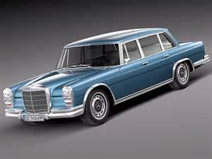 Models Of Mercedes Cars 3d Model Mercedes 600 W100 1963 To 1981 At 3dexport