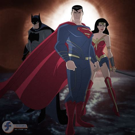 Baju Superheroes Batman Superman 5 batman v superman dcau style by jtsentertainment on deviantart
