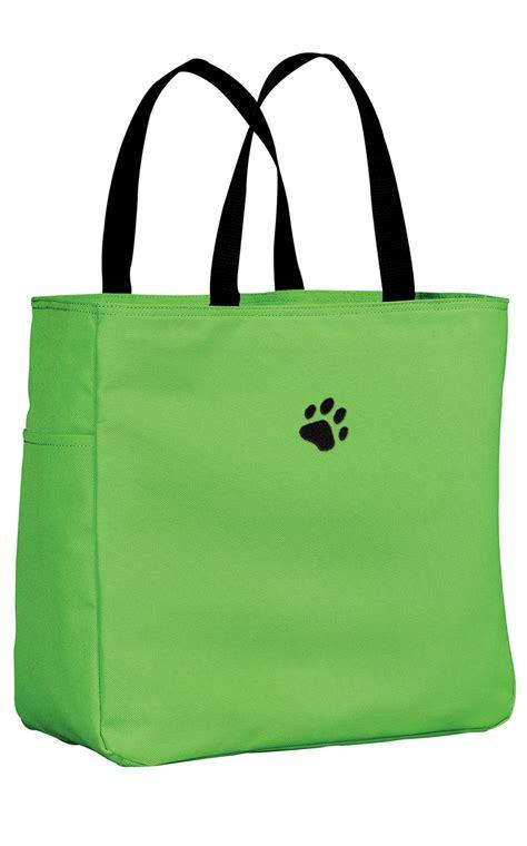 paw print large tote bag professional apparel