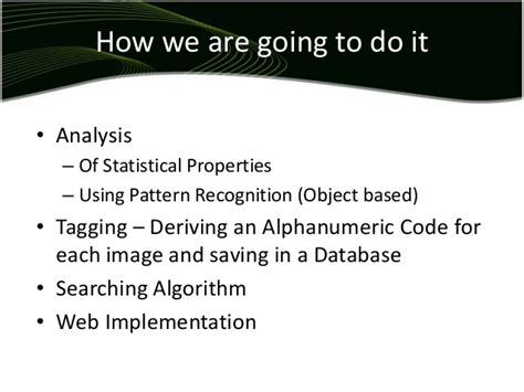 pattern recognition and image analysis using matlab reverse image search using matlab 174
