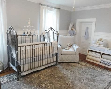 Baby Room Wainscoting grey walls and white wainscoting baby room neutral nurseries grey and the